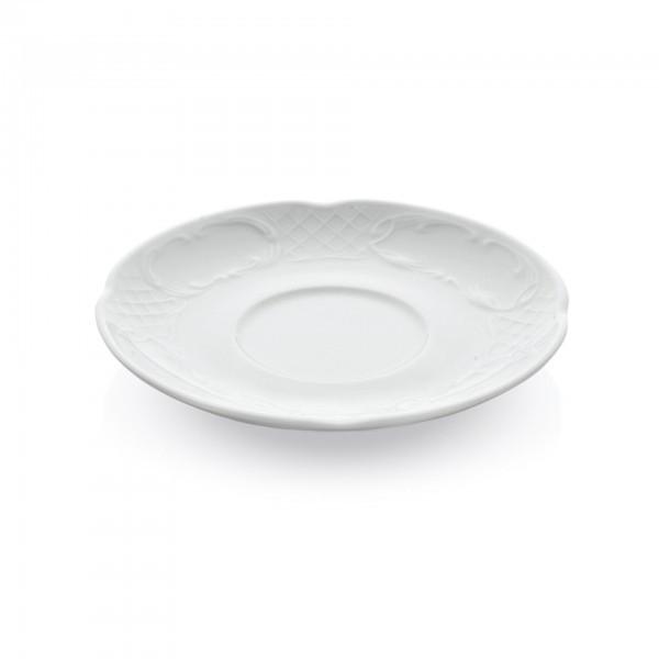 Untertasse - Serie Bavaria - Porzellan - für Cappuccino-Tasse 4712.022 - premium Qualität
