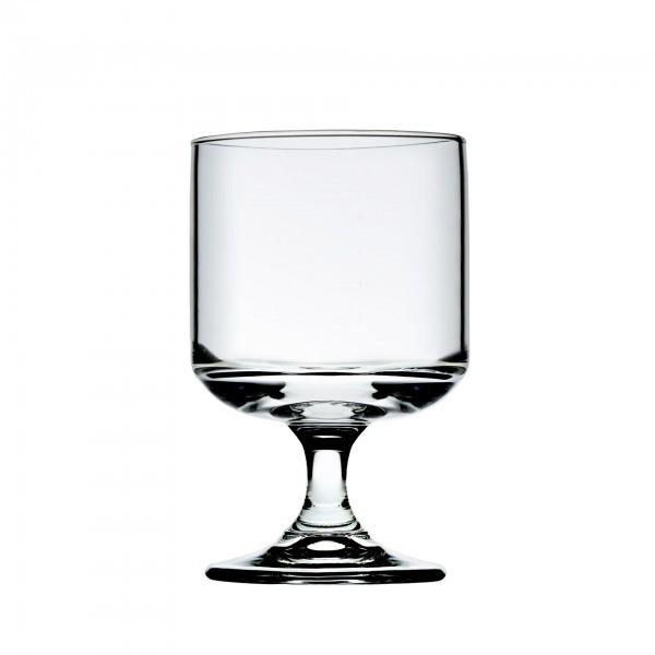 Wasserglas - auf Fuß