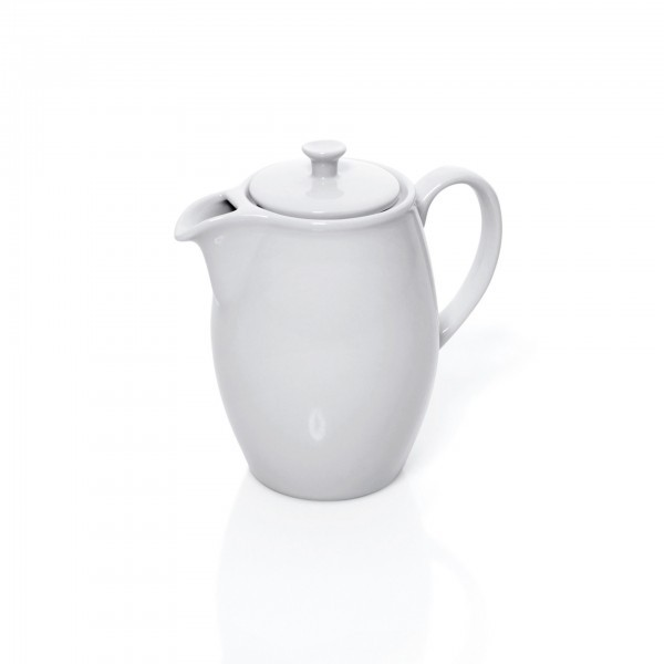 Kaffeekanne - Porzellan - mit Deckel