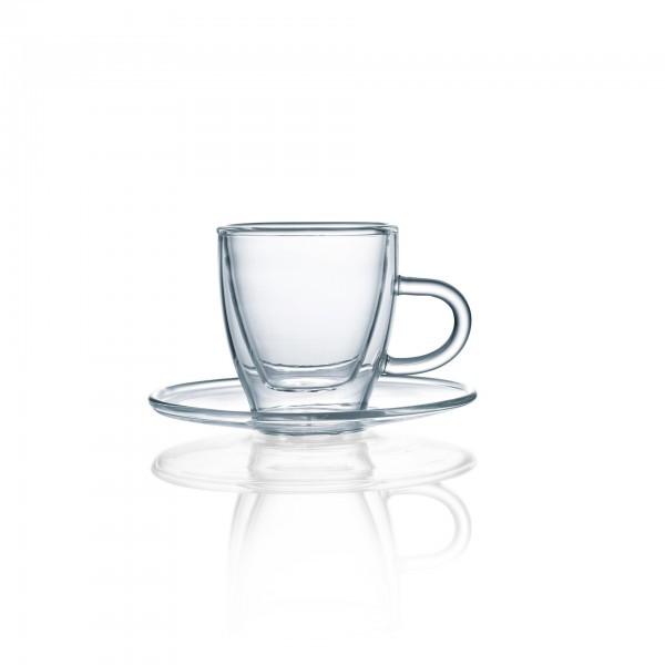 Espresso-Glas - Serie Enjoy - mit Henkel