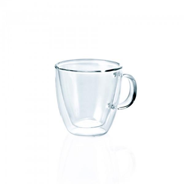 Espresso doppio Glas - Serie Enjoy - mit Henkel